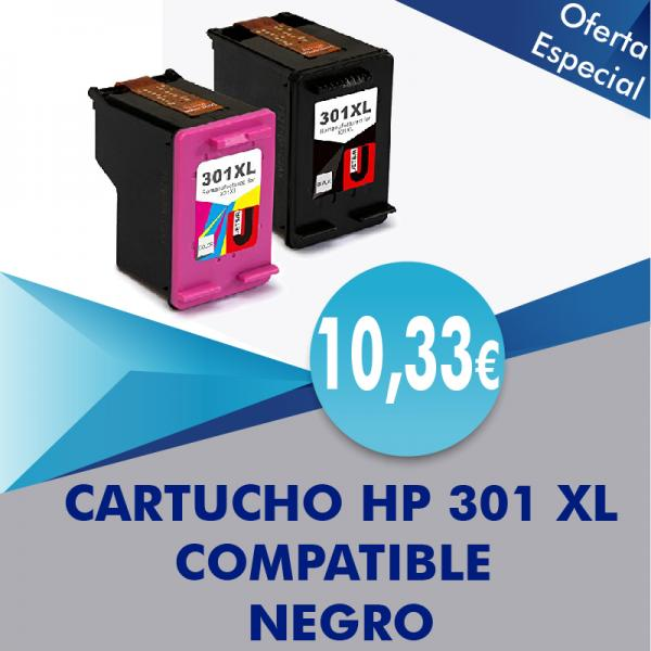 Cartucho HP 301XL
